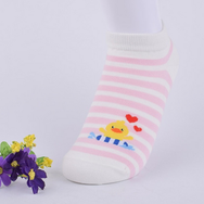 Chaussettes Canard Rose