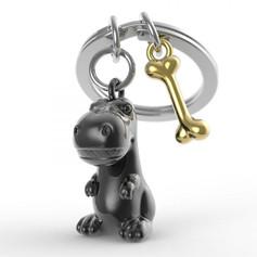 Porte clés Dino Noir