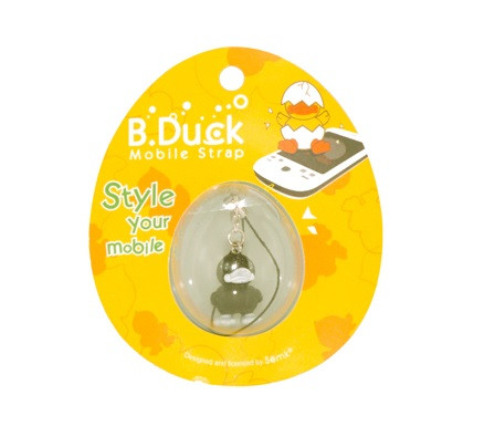 Canard Phone Strap Noir - B.Duck