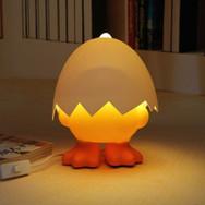 Veilleuse Canard Jaune Coquille d'œuf