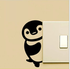 Autocollant Mural Pingouin