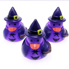 Mini Canard Sorcière Violette