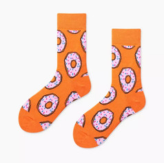 Chaussettes Donuts Oranges