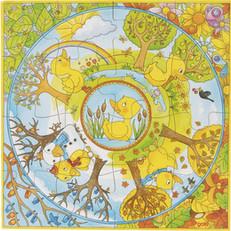 Puzzle 4 Saisons du Canard