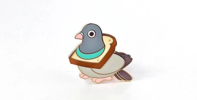 Pins Pigeon