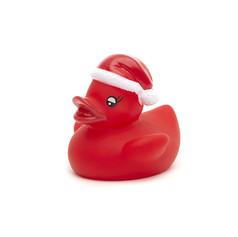 Canard Lumineux Noël Rouge