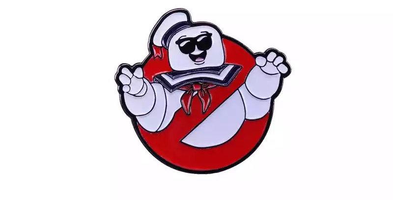 Pins Ghostbusters Bibendum Chamallow