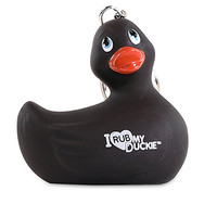 "Porte-clés Canard ""I Rub My Duckie"" Noir"