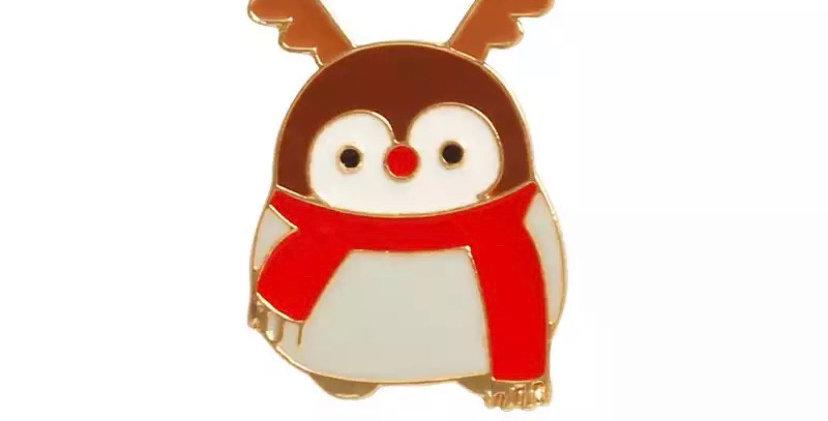 Pins Pingouin Renne