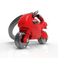 Porte clés Moto Sportive Rouge