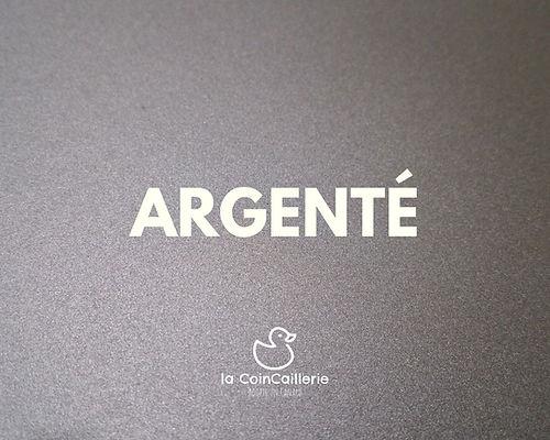 Argenté