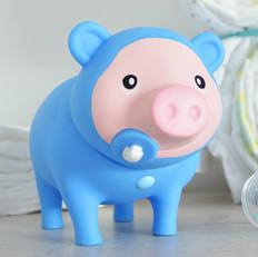 Cochon Bébé Garçon Bleu