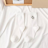 Chaussettes Brodées Pingouin