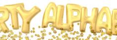 Porte clés Alphabet Ballon Gonflable