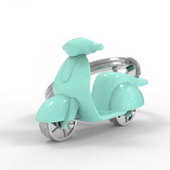 Porte clés Scooter Turquoise