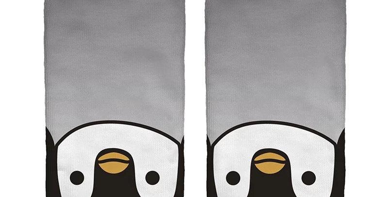 Socquettes Imprimées Pingouin