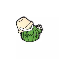 Pins Chat Cactus avec Sceau