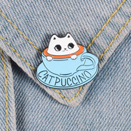 Pins Chat Catpuccino