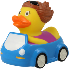 Couple de Canards Automobilistes