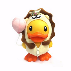 Canard Tirelire Lion Clown - B.Duck