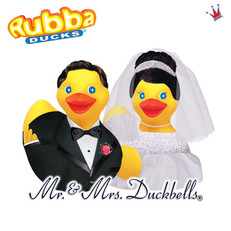 Canard Couple de Mariés