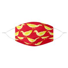 Masque Canard Rouge