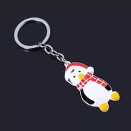 Porte Clés Pingouin de Noël