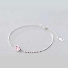 Bracelet Petit Poussin Rose