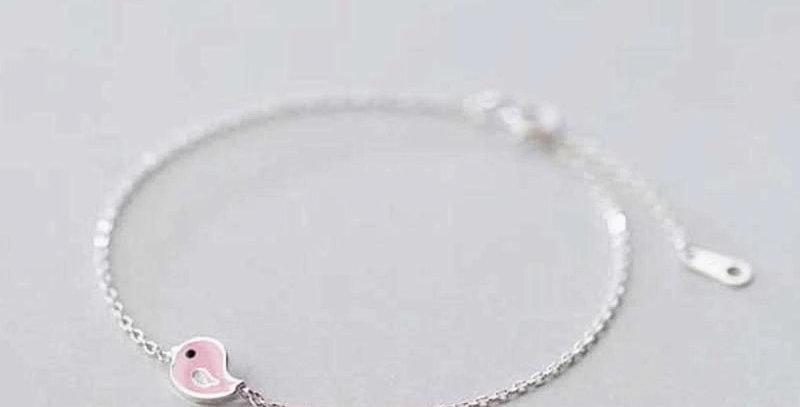 Small Pink Chick Bracelet