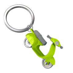 Porte clés Scooter Retro Vert