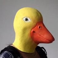 Masque de Canard Jaune