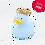 Thumbnail: Mini Canard Couronne Bleu