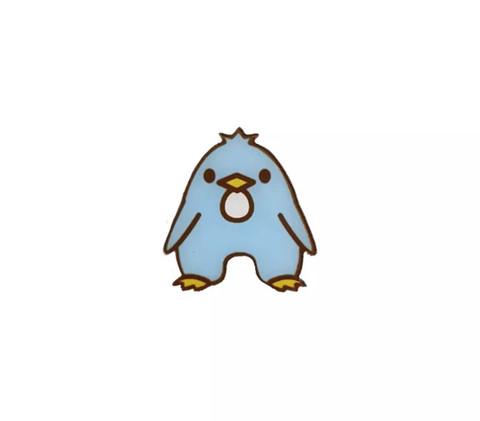 Broche Pingouin Lettre A