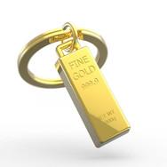 Porte clés Lingot d'Or