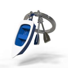 Porte clés Barque Bleue
