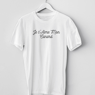 T-Shirt Je t'Aime Mon Canard