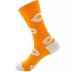 Chaussettes œuf au plat Orange