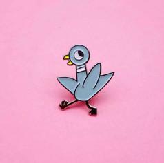 Pins Pigeon Cartoon
