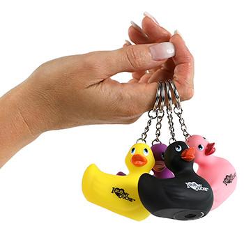 """Canard Porte-clés """"I Rub My Duckie"""""""