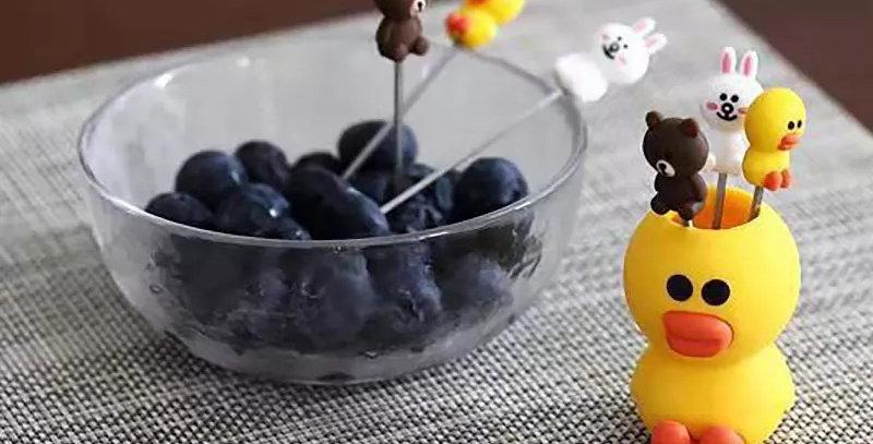 Fourchettes à dessert Canard Sally