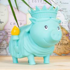 Cochon Statue de la Liberté