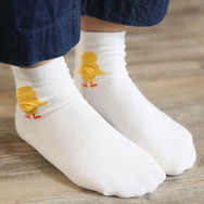 Chaussettes Canard Blanche