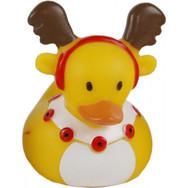 Mini Canard Renne de Noël