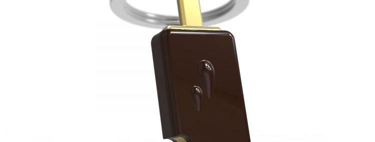 Porte clés Glace Chocolat