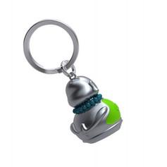 Porte clés Bouddha Vert