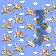 Chaussettes Pizza Volante