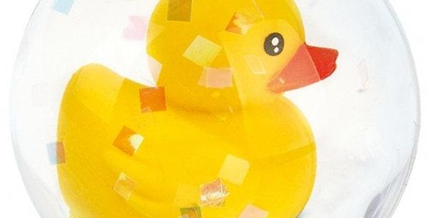 Yellow Duck Bouncing Ball