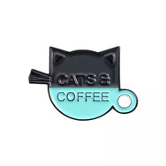 Pins Chat Cats & Coffee