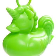 Canard Licorne Vert de Pêche à la Ligne