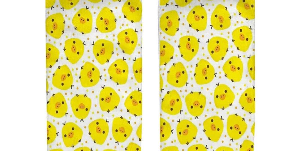 Socquettes Imprimées Poussin